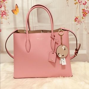 👜NWT Kate Spade Medium Satchel and Free Key chain